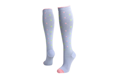 Dots-a-Plenty Compression Socks