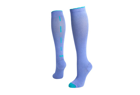 Sassy Bow Compression Socks