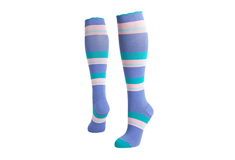 Candy Stripes Compression Socks