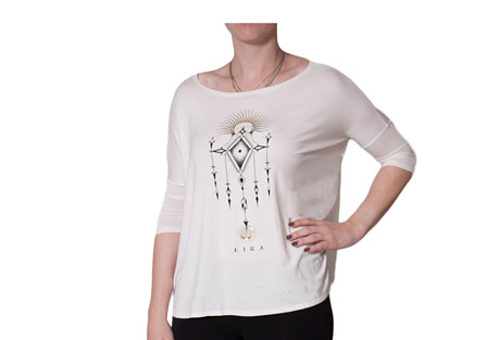 Bad Moon 3/4 Sleeve Tee - Women's