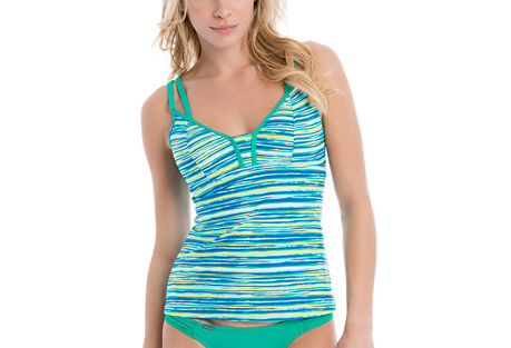 Azura D-Cup Swim Tankini Top - Women's