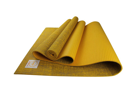"Premium Eco Jute Yoga Mat 24"" x 72"" x 5mm"