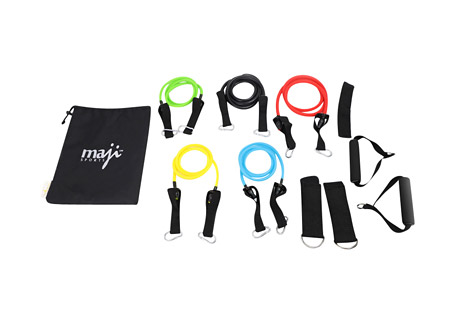 Full Body Workout Max Resistance Tube Kit