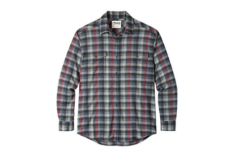 Peaks Wool Flannel Shirt - Men's