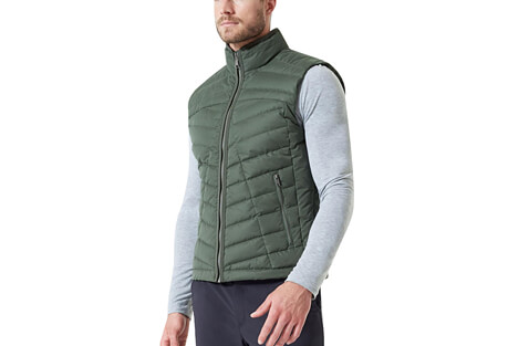 Crusade Down Filled Quilted Vest - Men's