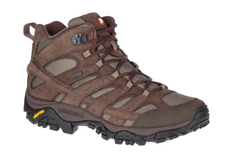 Moab 2 Smooth Mid WP Boots - Men's