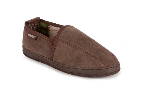 Eric Printed Suede Slip-On - Mens