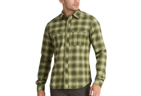 Fader Plaid Long Sleeve Shirt - Men's