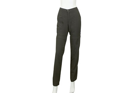Trekking Pants Zip To Shorts - Women's
