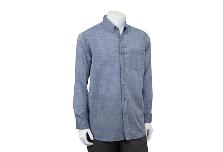 Oxford Button Up Long Sleeve - Men's