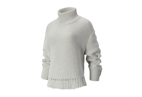 Balance Fringe Sweater - Women's