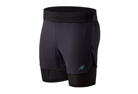 "Q Speed 5"" 2 In 1 Short - Men's"