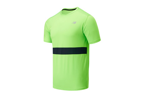 Striped Accelerate Short Sleeve - Men's