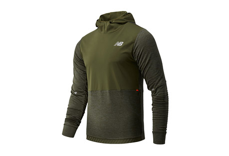 Impact Run Grid Back Hoodie - Men's
