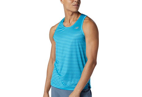 Printed Impact Run Singlet - Men's