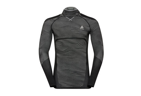 Blackcomb Long Sleeve Base Layer Top with Face Mask - Men's
