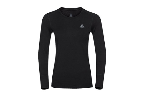 Merino Wool Long-Sleeve Baselayer Top - Women's