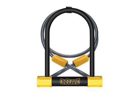 Bulldog DT U-Lock w/ 4' Cable