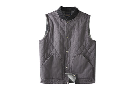 Reversible Canvas Vest - Men's