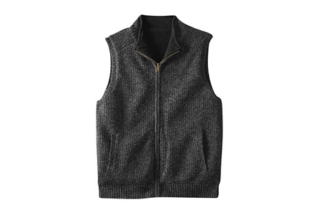 Reversible Fleece Vest - Men's