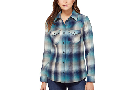 Shaniko Wool Western Shirt - Women's