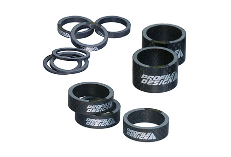 "Carbon Headset Spacers for 1"" Steer Tube"