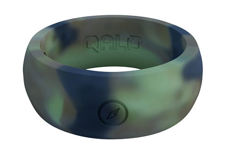 Outdoors Camo Silicone Ring - Men's
