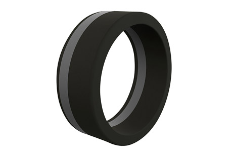 Standard Silicone Ring - Men's