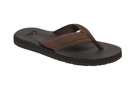 Coastal Oasis Leather Thongs - Men's