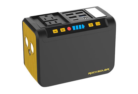 Portable Power Station w/ LED Flashlight