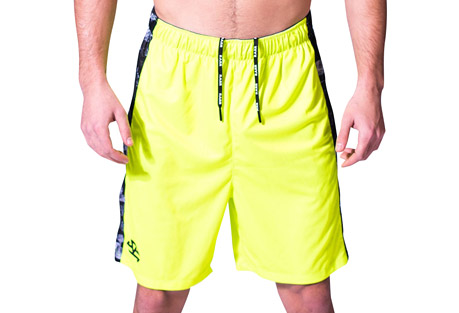Stretch Knit Shorts - Men's