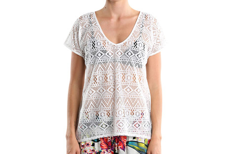 Holiday Top Short Sleeves - Women's