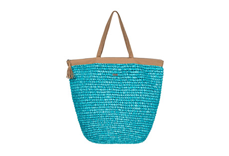 Got Rhythm Straw Beach Tote - Women's