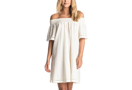 Moonlight Shadows Cold Shoulder Dress - Women's