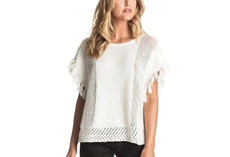 Ladies Of The Canyon Fringe Poncho - Women's