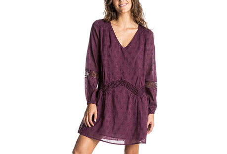 Cali Stars Long Sleeve Dress - Women's