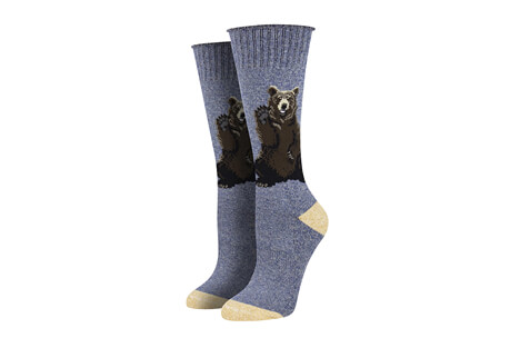 Recycled Cotton Friendly Bear Socks