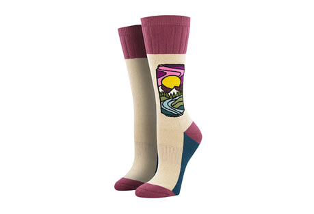 Outlands Brew With A View Socks - Women's