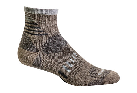 Ascend II Quarter Socks