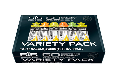 GO Isotonic Energy Gel Variety Pack - Box of 6