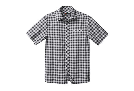 Everyday Exploration Gingham Short Sleeve Shirt - Men's