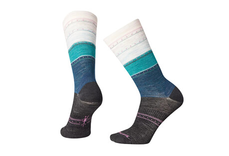 Sulawesi Stripe Crew Socks - Women's