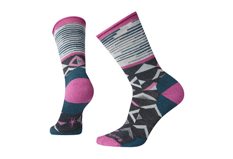 Non-Binding Pressure Free Triangle Crew Socks - Women's