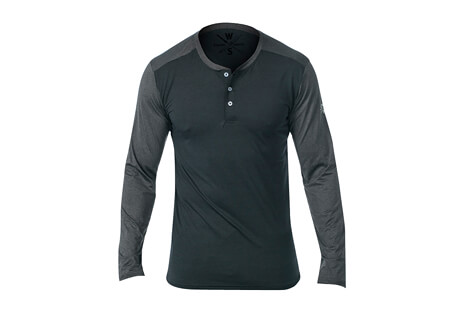 Cara L/S Fitness Tech Henley - Men's