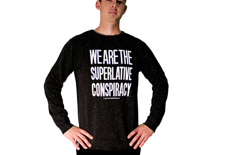 Clean Message Crewneck Sweatshirt - Men's