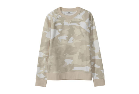 Marvin Camo AOP Crewneck - Men's