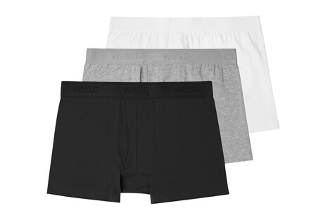 Benjamin Basic Boxer Brief 3 Pack- Men's