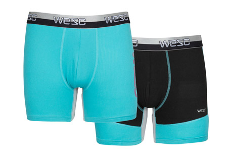 "6""Carter Color Block Boxer Brief 2 Pack - Men's"