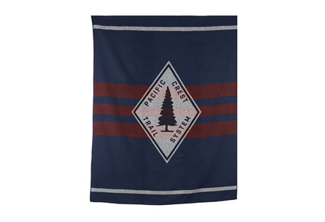 Pacific Crest Trail Wool Blanket