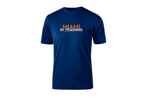 & Half Marathon: '2019 In Training' SS Tech Tee - Men's 2019